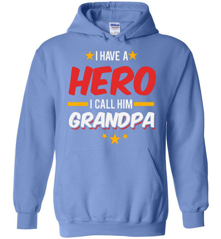 I Have A Hero I Call Him Grandpa Blend Hoodie