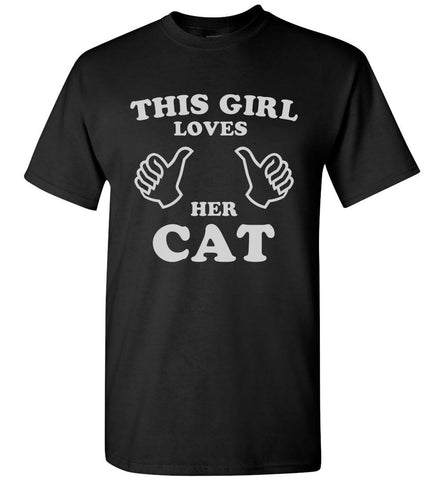 This Girl Loves Her Cat T-Shirt