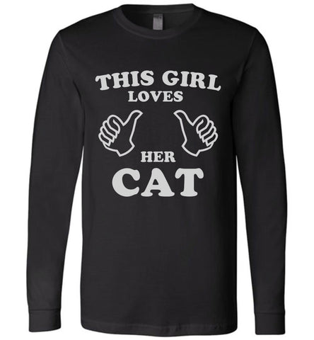 This Girl Loves Her Cat Long Sleeve