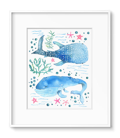Whale Shark & Friend