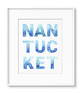Nantucket Indigo Dots