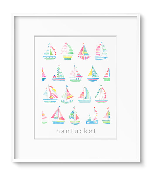 Mini Sailboats
