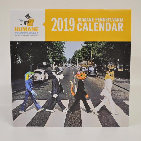 2019 Spike & Tilly's Rock Art Calendar