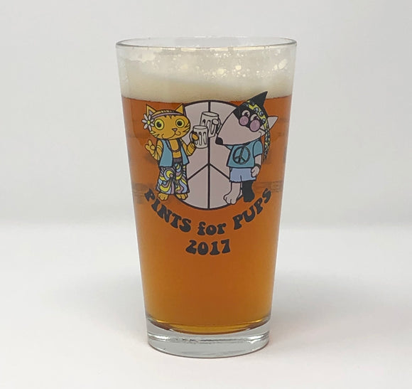 2017 Pints for Pups Glass