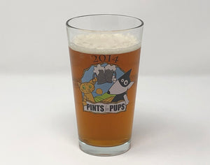 2014 Pints for Pups Glass