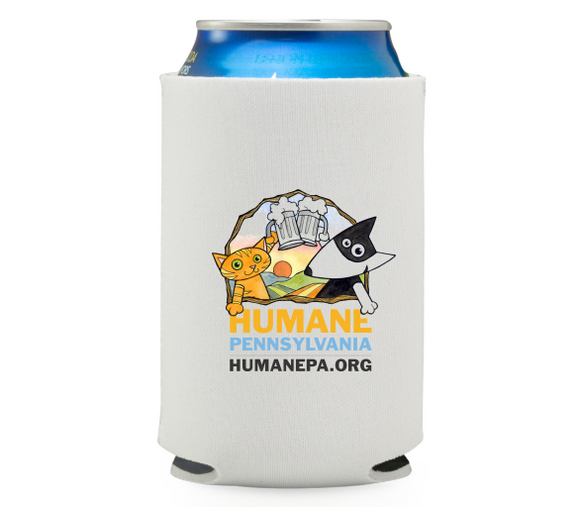 Pints for Pups Beer Koozie