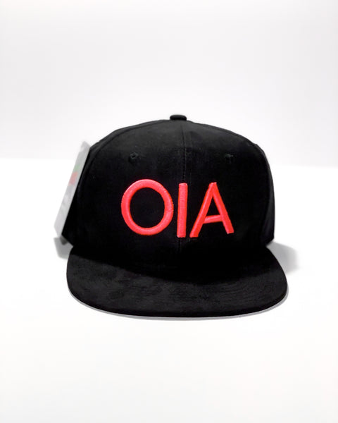 OIA Suede Snap Back