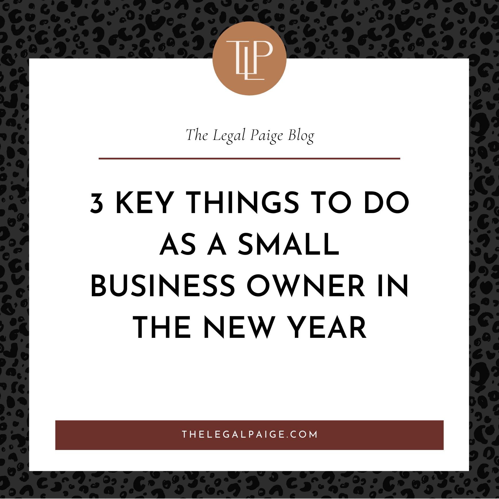 3 Key Things To Do As A Small Business Owner In The New Year