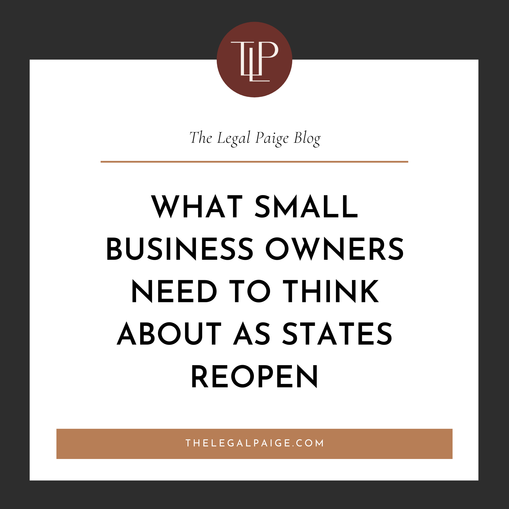 What Small Business Owners Need to Think About as States Reopen