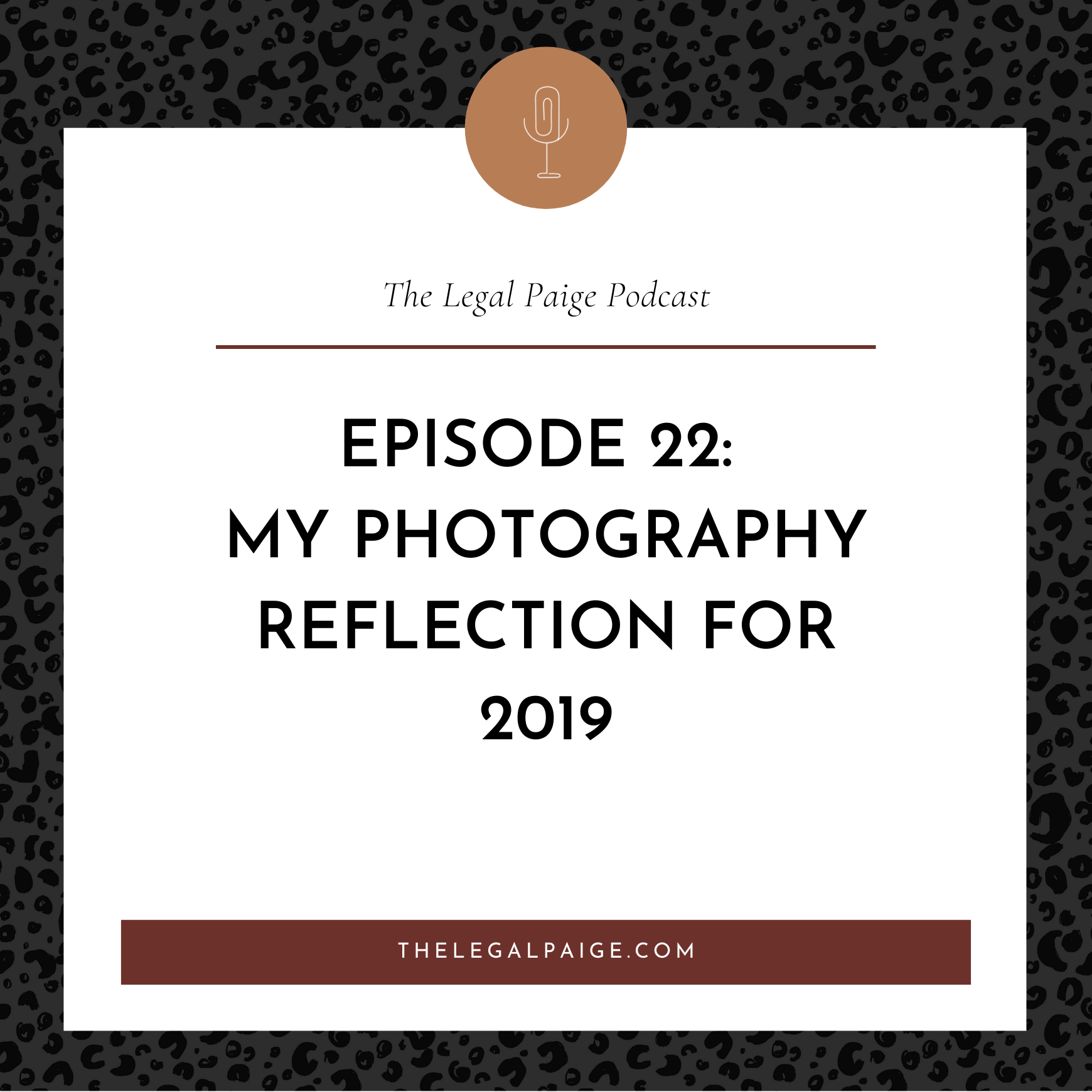Ep: 22 My Photography Reflection for 2019