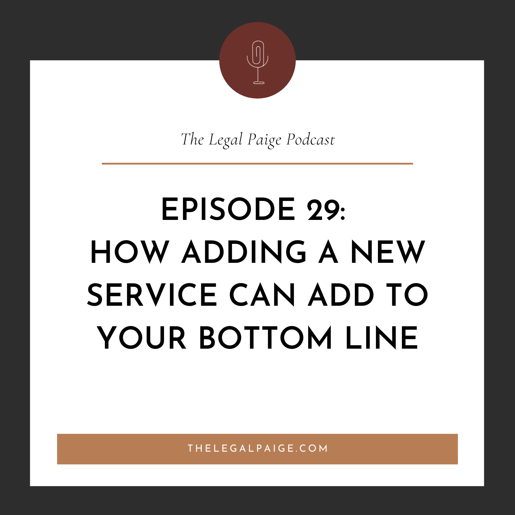 Ep 29: Preview & Prosecco: How Adding a New Service Into Your Business Can Add to Your Bottom Line