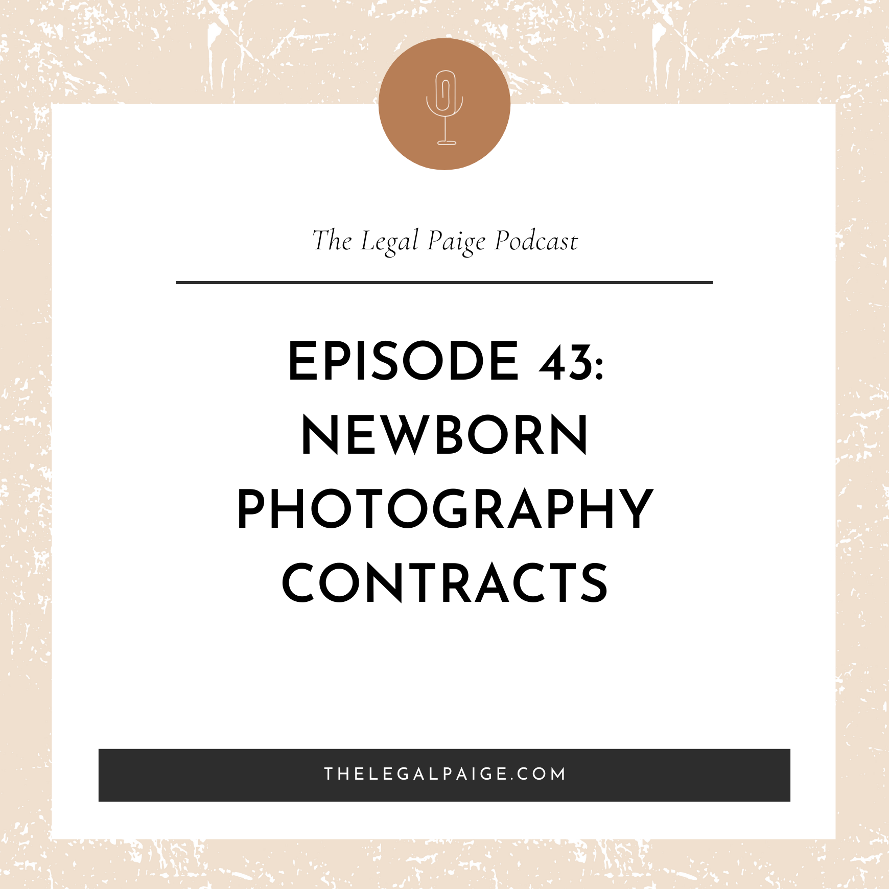 Ep 43: Newborn Photography Contracts with Guest Jenni Maroney