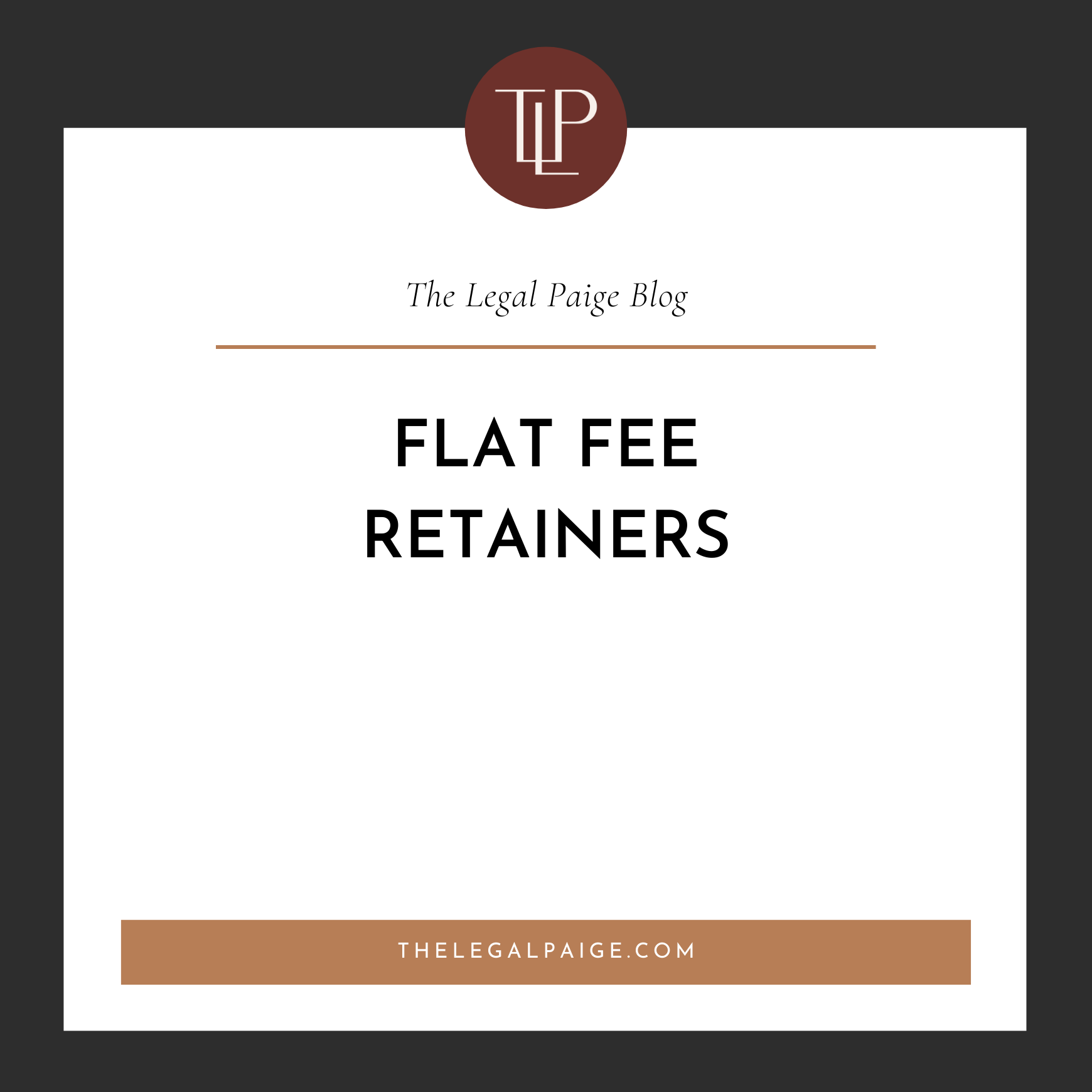 Flat Fee Retainers