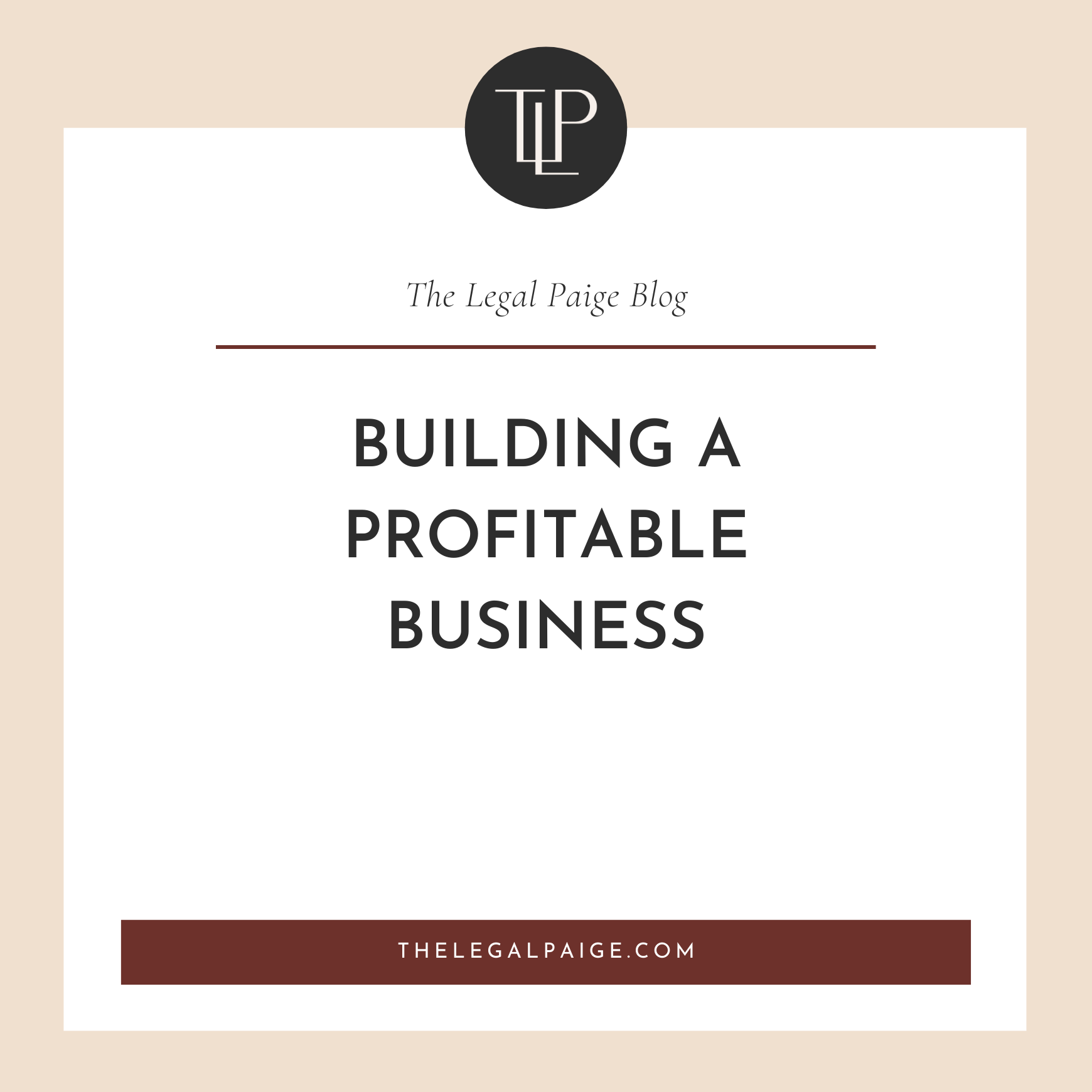 Building a Profitable Business