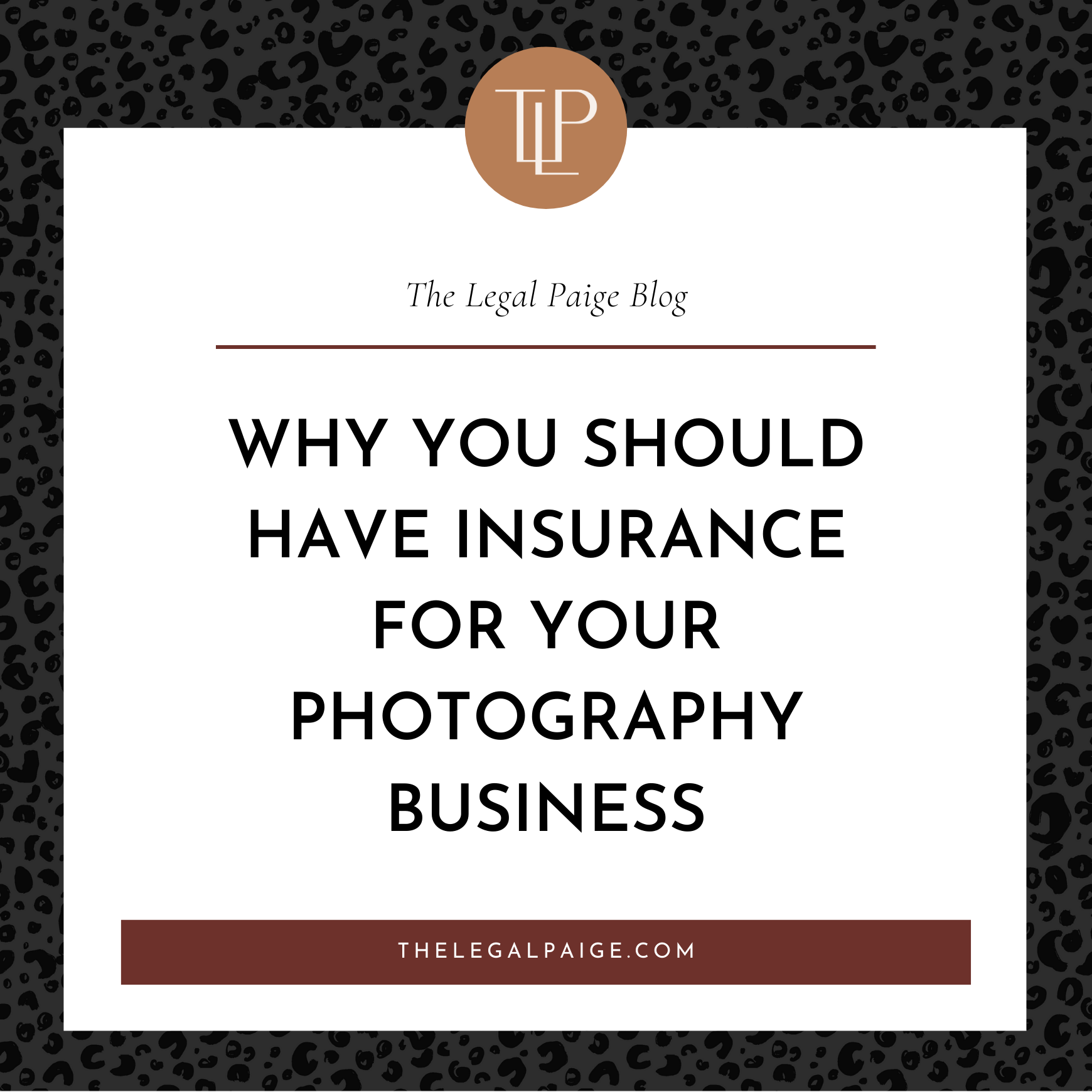 Why You Should Have Insurance for Your Photography Business