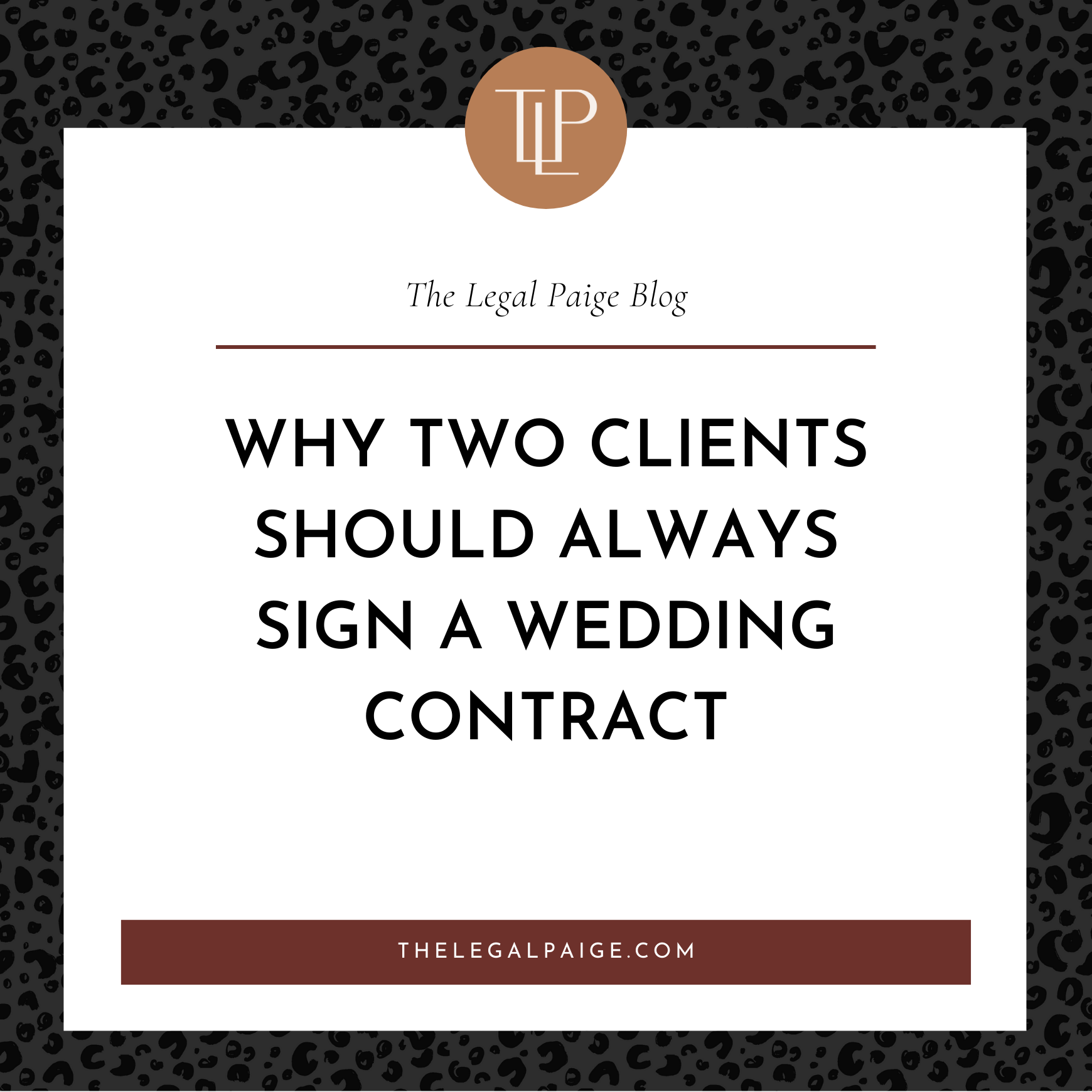 Why TWO CLIENTS Should Always Sign A Wedding Contract
