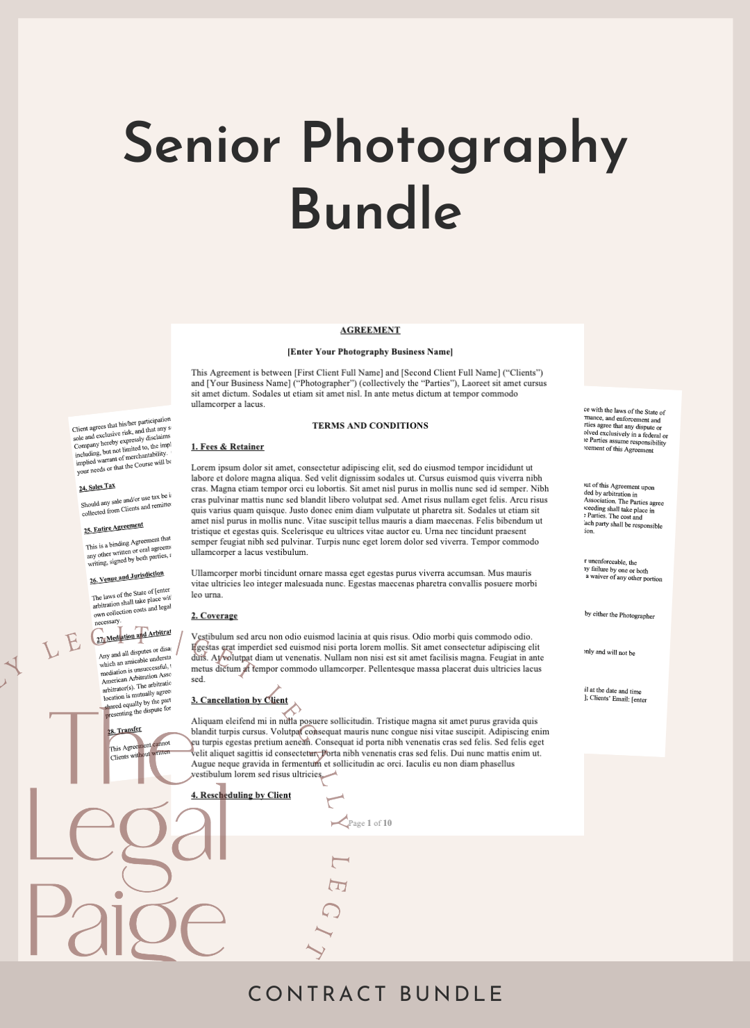 Senior Photography Bundle