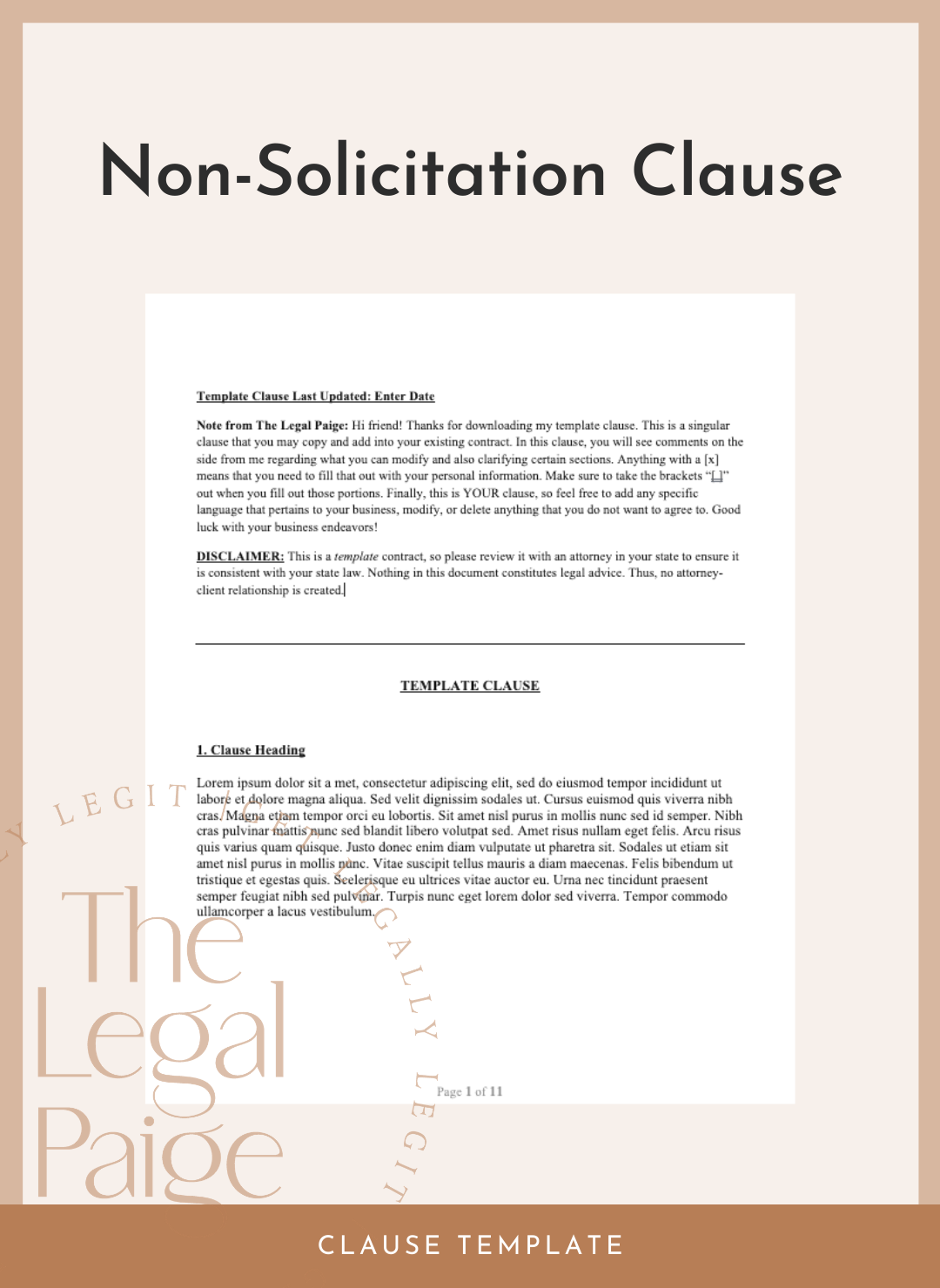 Non-Solicitation Clause