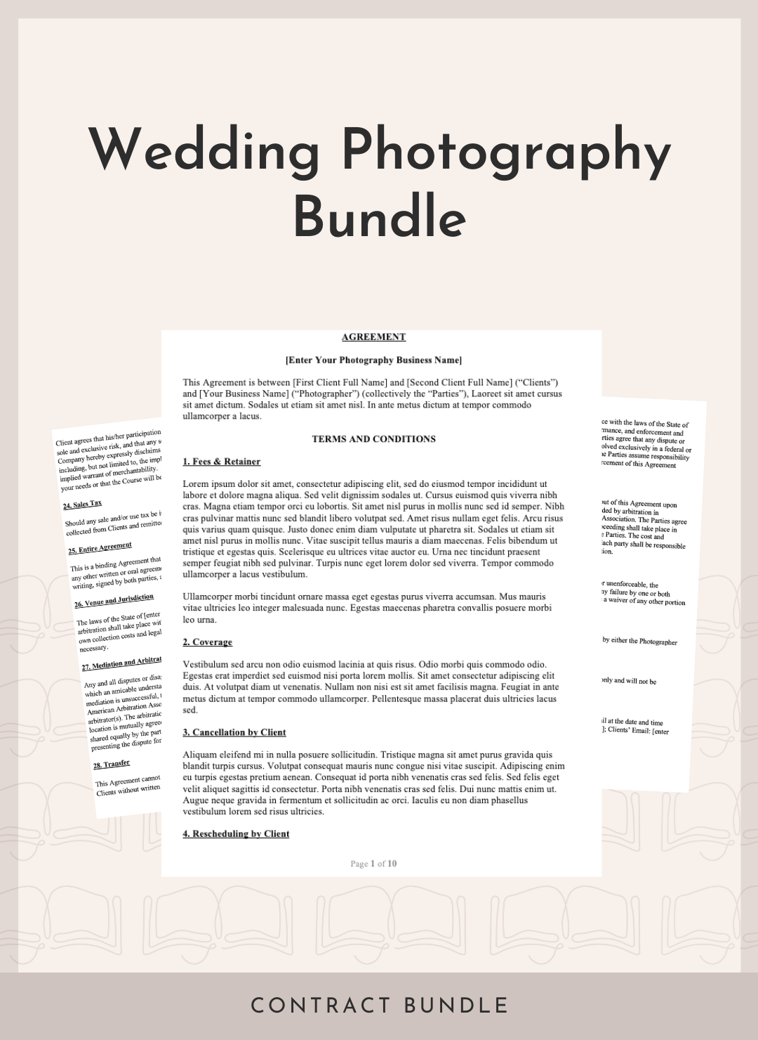 Wedding Photography Bundle