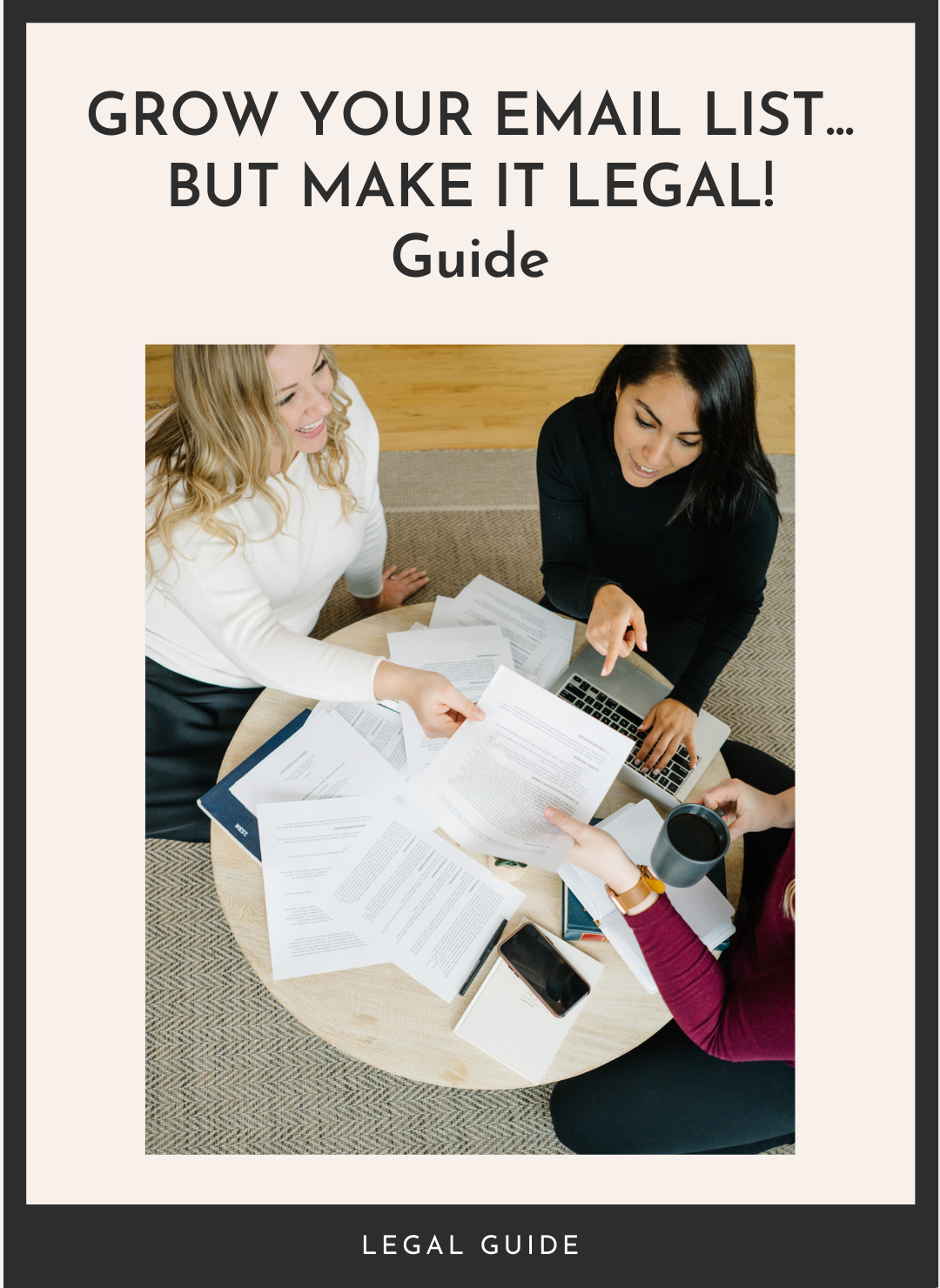 Grow Your Email List But Make It Legal Guide