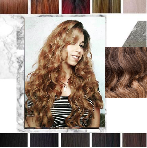 London -  curly natural wig (Synthetic, 11 colours)