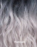 Sadie - Synthetic, 11 colours (Ombre blonde)