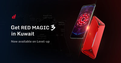 Get Red Magic 3 in Kuwait-Now available on Level-up