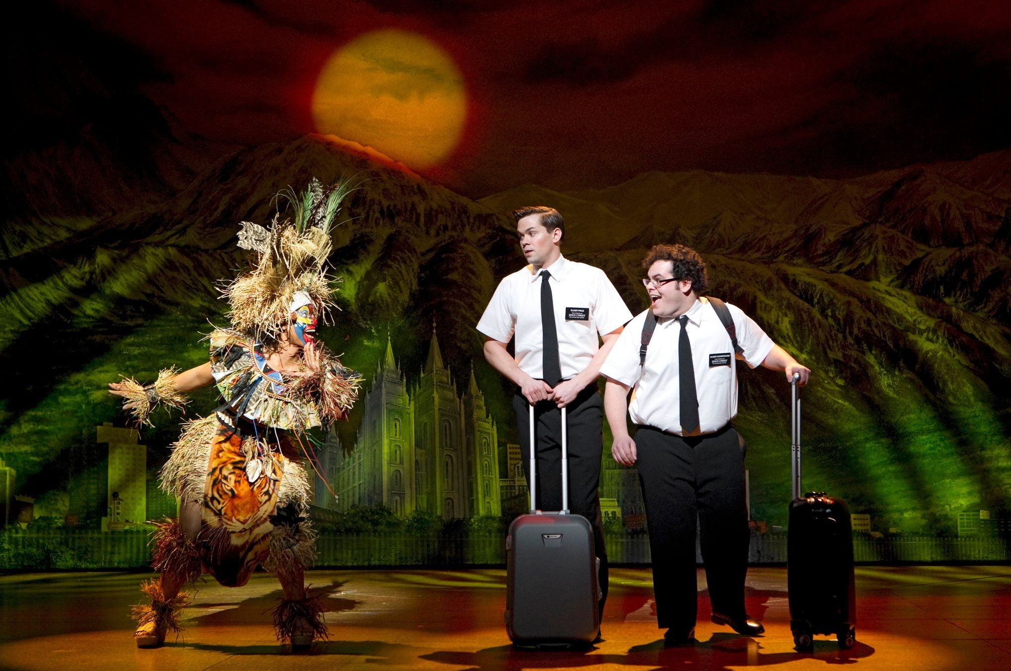 Entradas para The Book of Mormon en Broadway