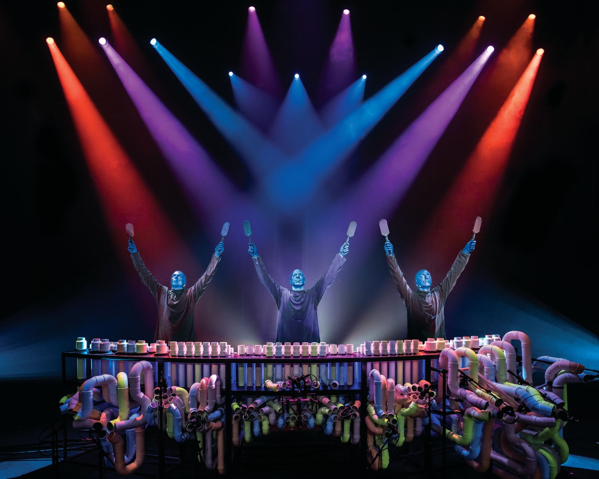 Entradas para el musical Blue Man Group en Broadway