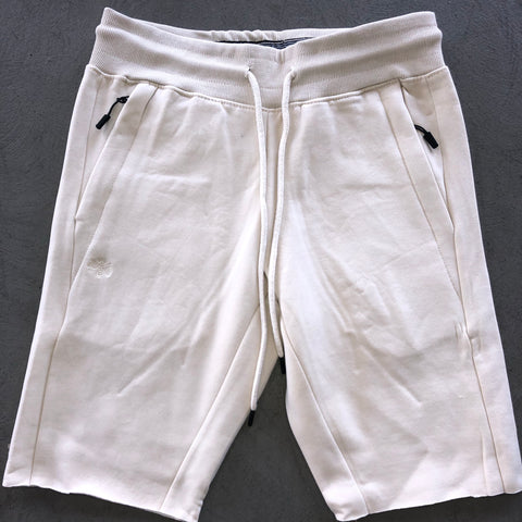 Cream Cut-Off Short