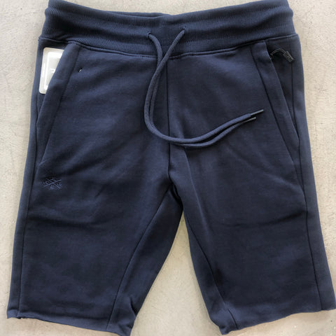 Navy Cut-Off Short