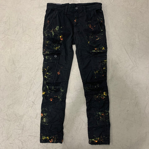 Black Shadow Cargo Pants