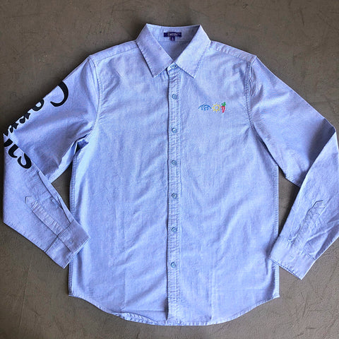 Sky Blue Button Up