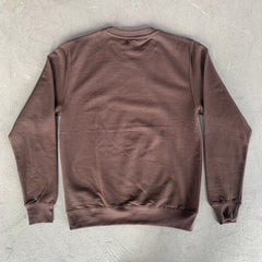 Brown Rolex Crewneck