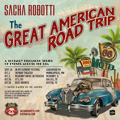 SACHA'S GREAT AMERICAN ROAD TRIP