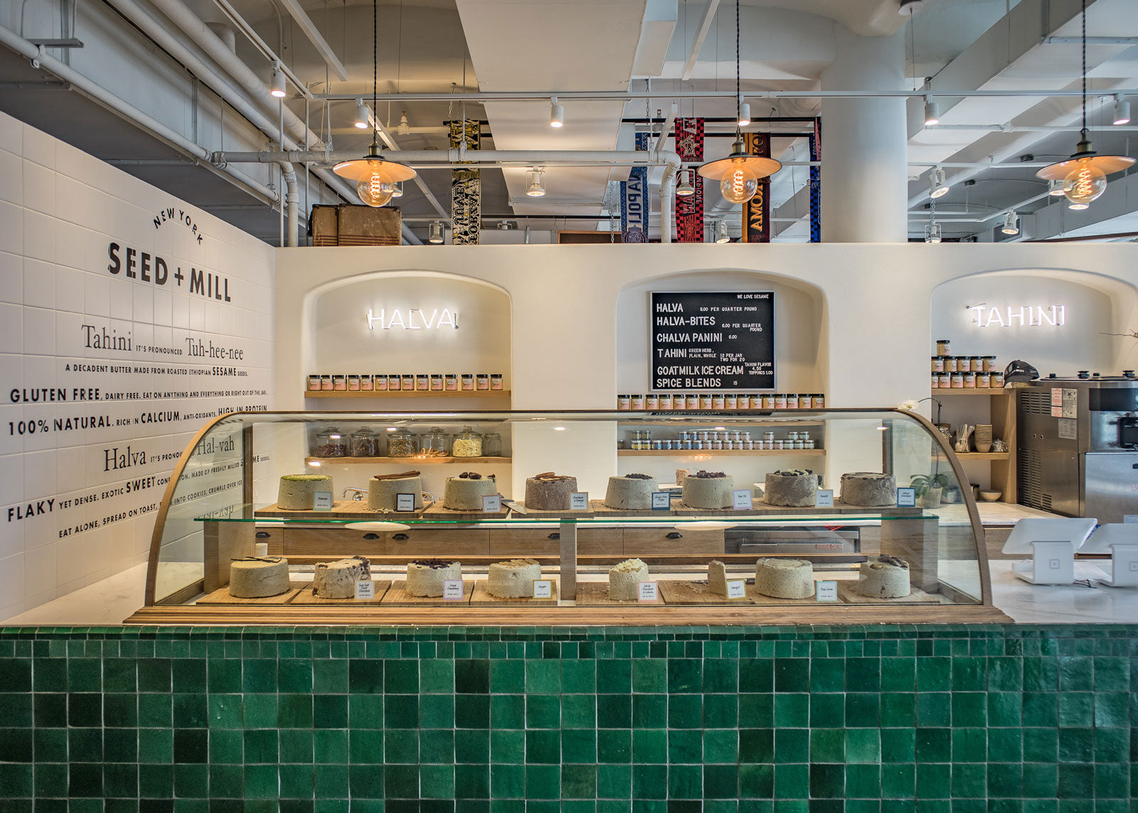 Seed + Mill's New York storefront.~WHOLE