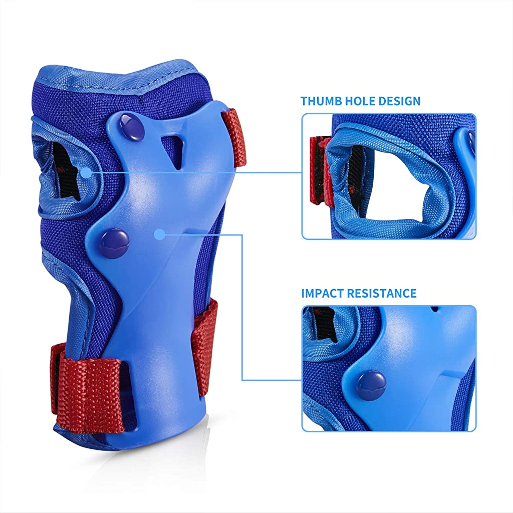 roller skating knee pads
