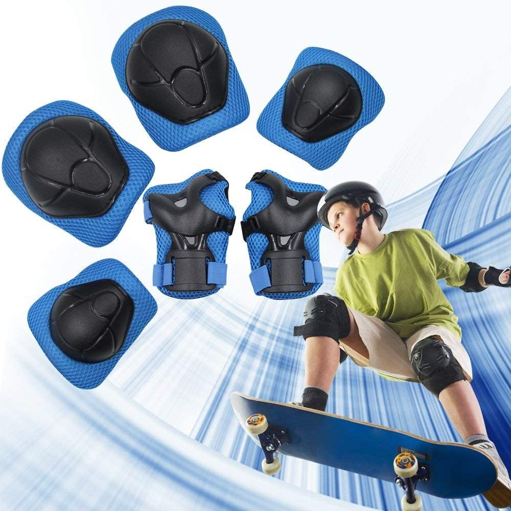 children's elbow and knee pads for biking