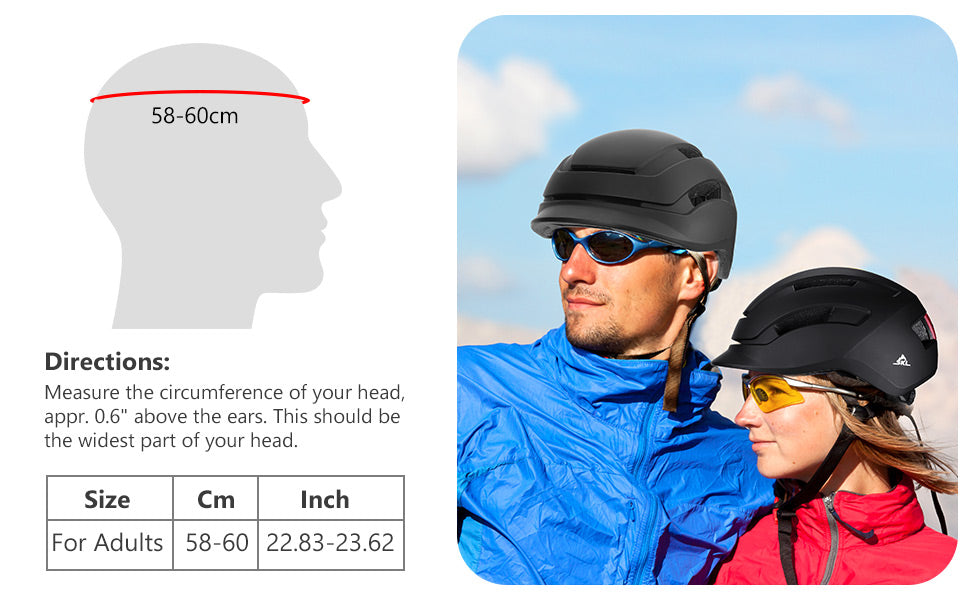 adjustable bike helmet