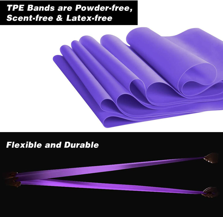 Non Latex Resistance Bands Set of 4