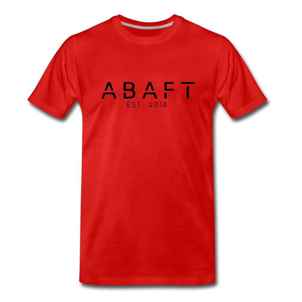 Abaft Logo Tee - red