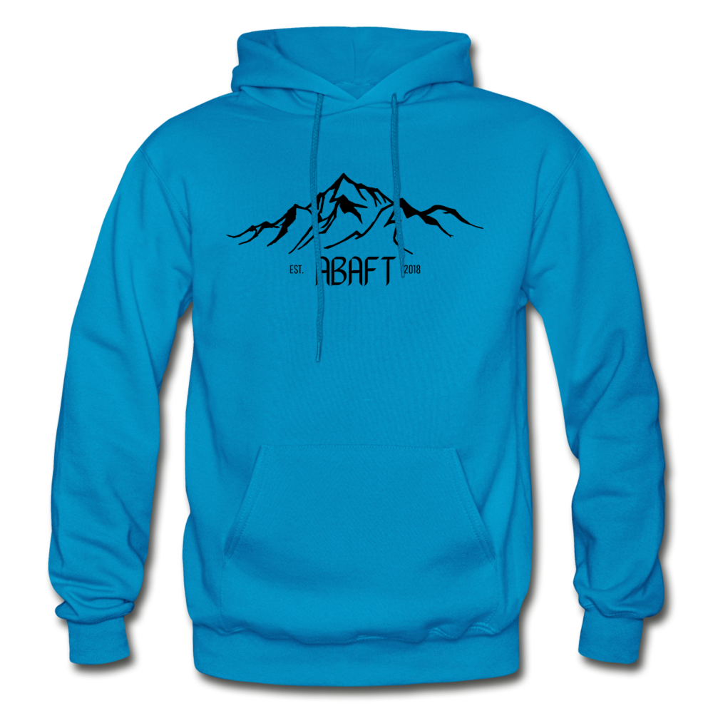 Mountain Hoodie - turquoise