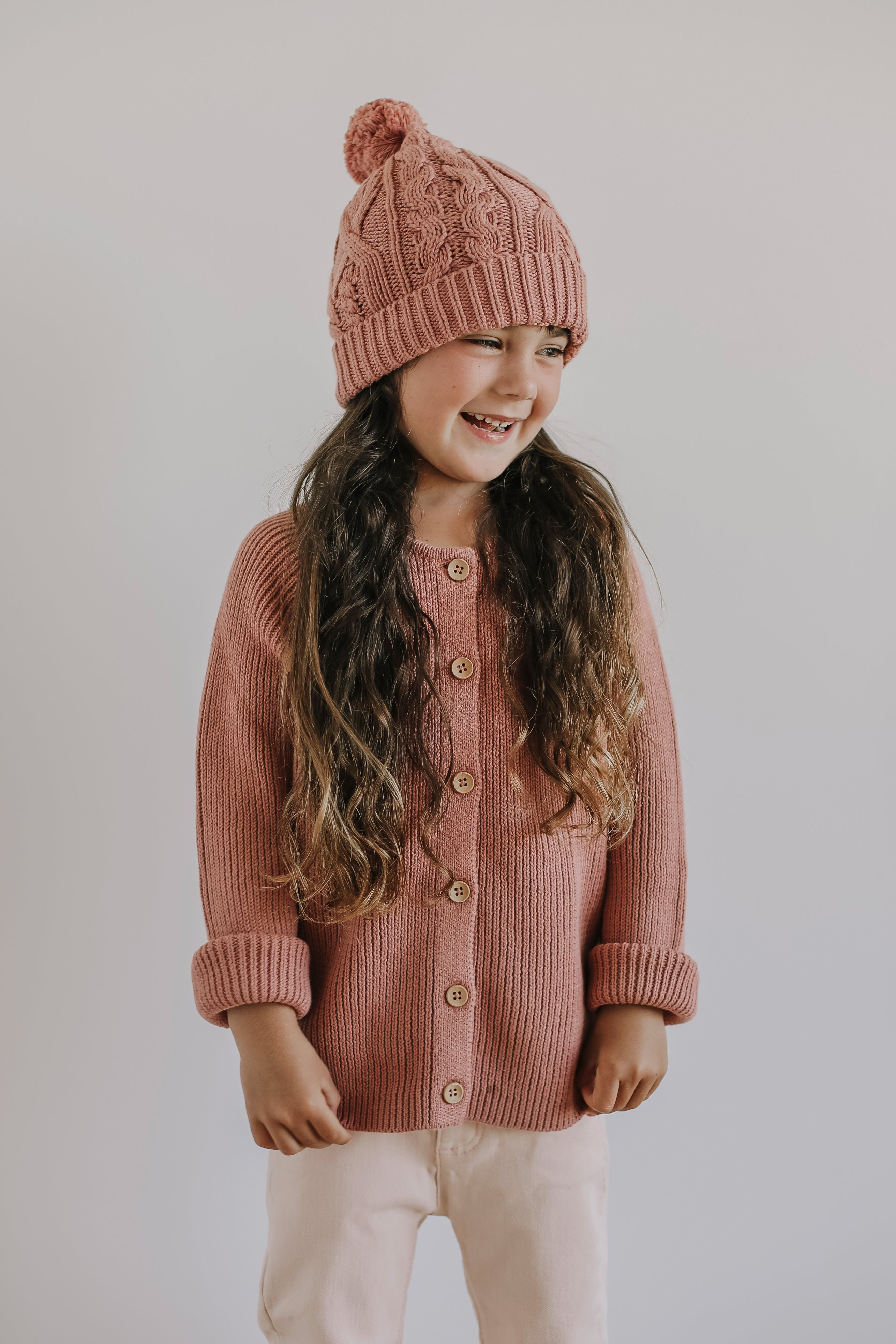 Bailey Hat - Rose
