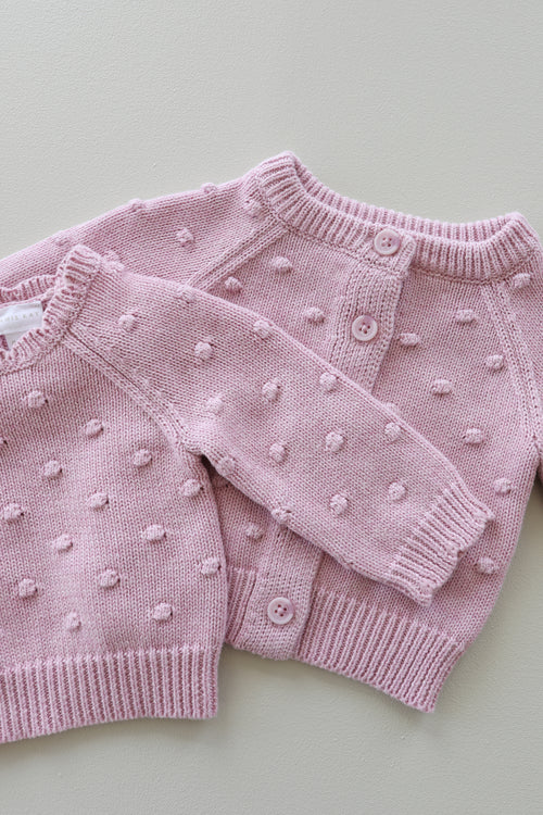 Dotty Cardigan - Rose Marle