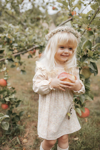 Charlotte Dress - Honey Peach