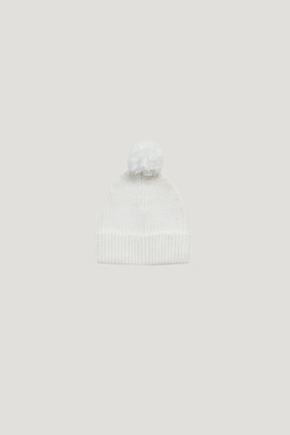 Frill Knit - Light Grey Marle