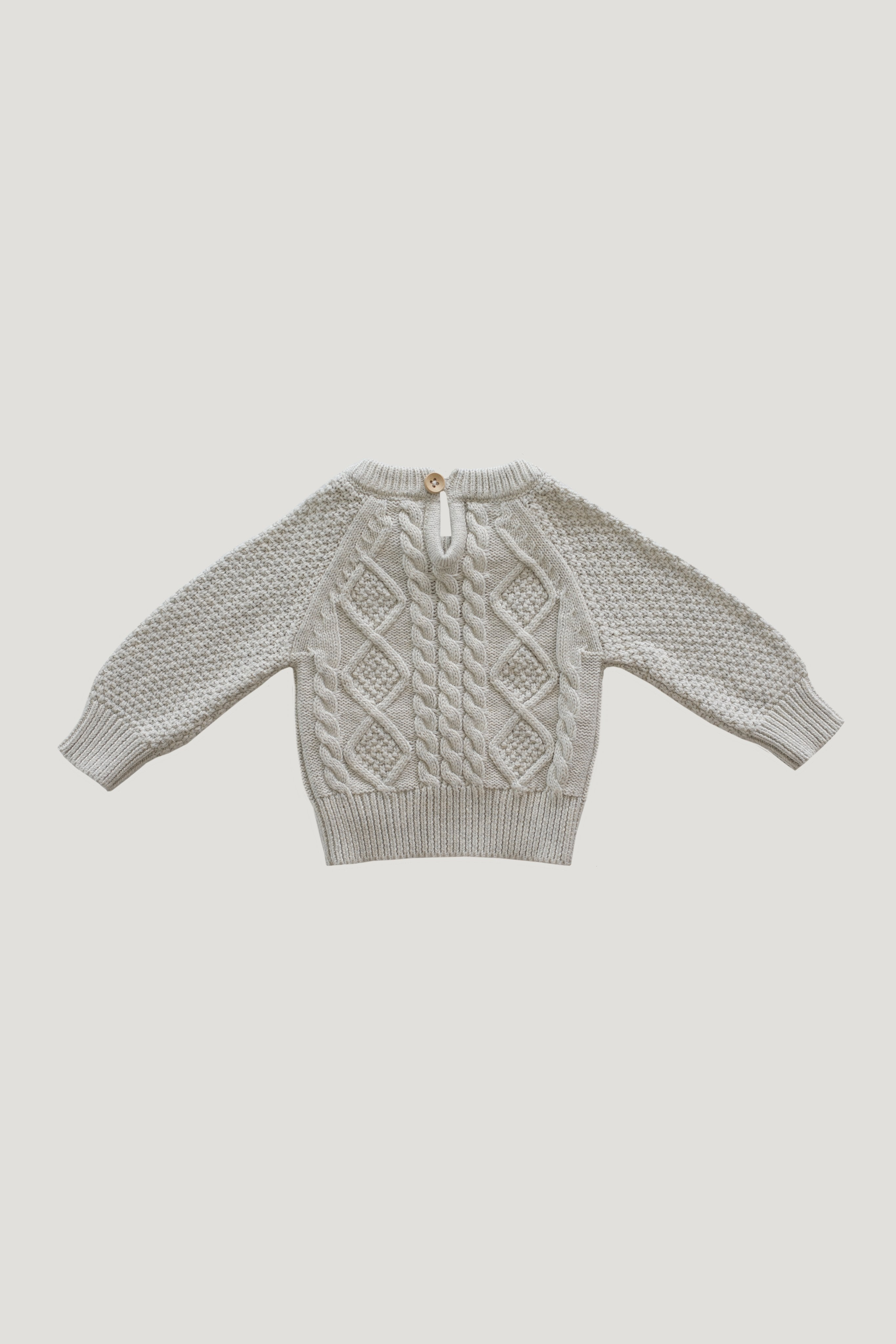 Cable Knit - Oatmeal