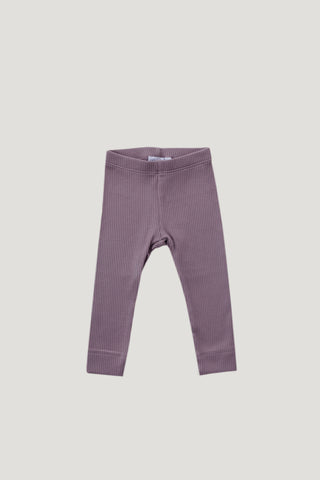 Cotton Legging - Light Grey Marle