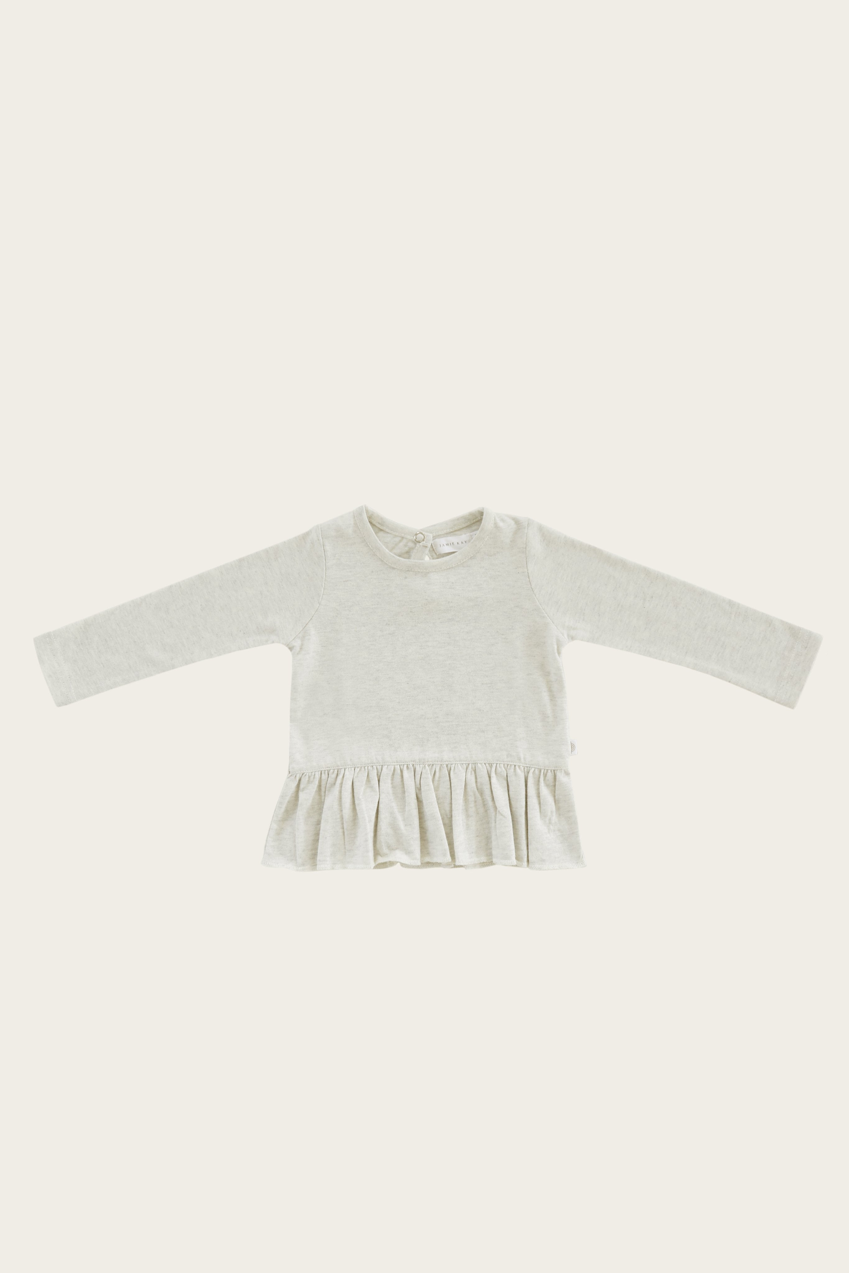 Organic Cotton Bailey Top - Linen