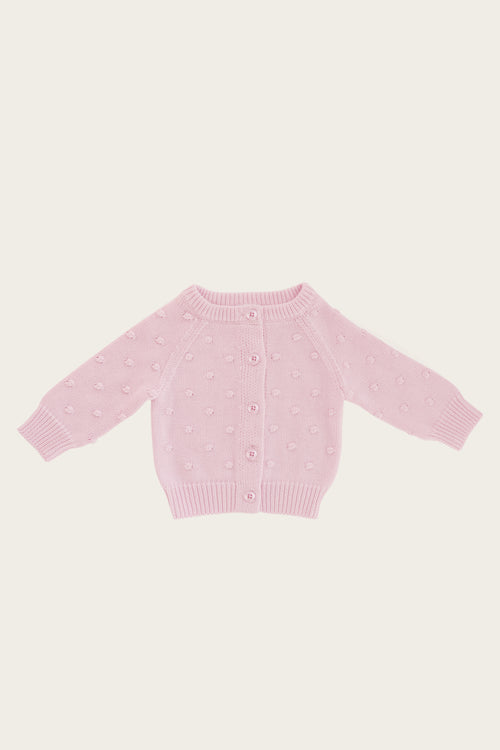 Dotty Cardigan - Lilac